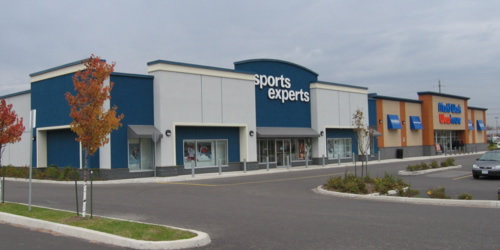 Sports Experts and Marks Work Wearhouse